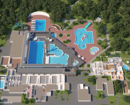 3D-Lageplan-Westbad-Regensburg