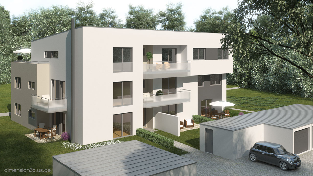 Rendering_Wohnhaus_Amberg