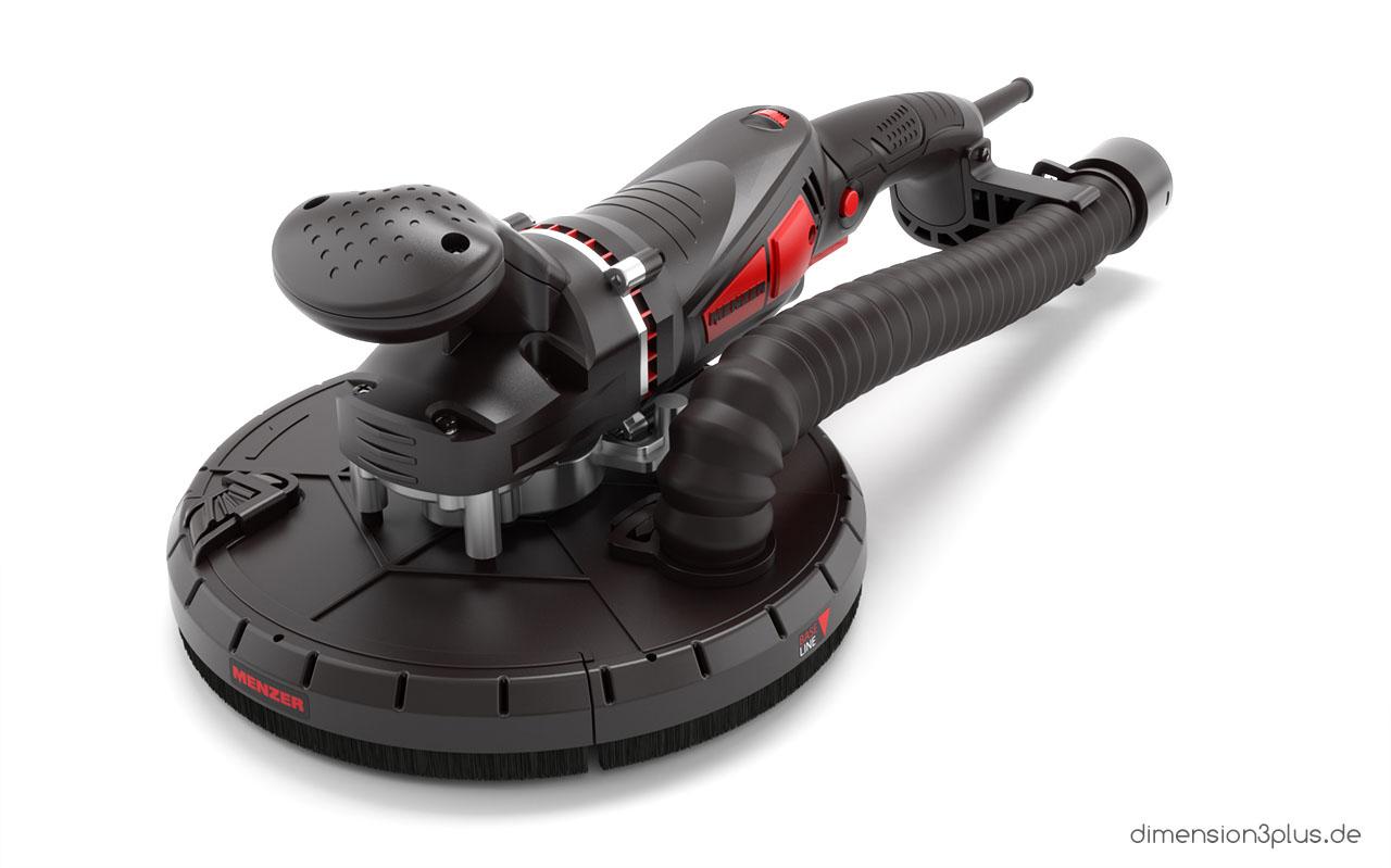 3d-produktrendering-schleifmaschine