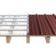 Produktrendering_ArcelorMittal_Dachaufbau_Lichtplatte_auf_Holz